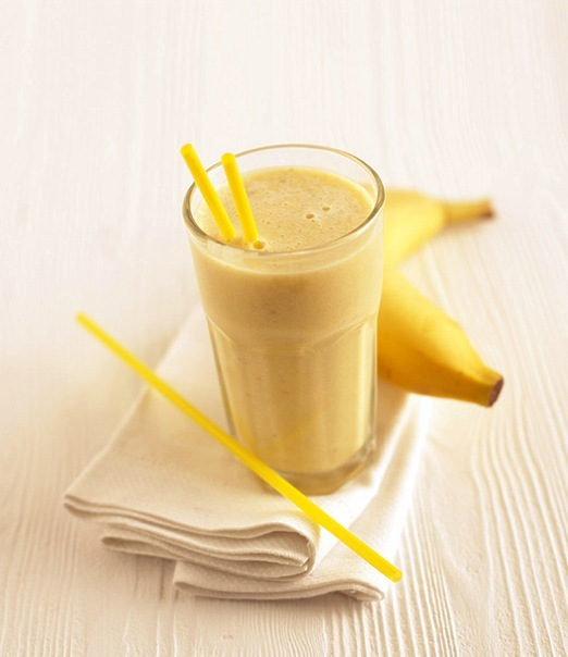 Как сделать домашний коктейль из банана